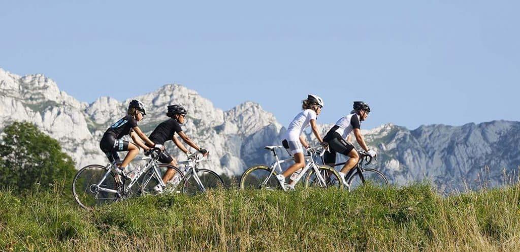 cyclo dans le Vercors
